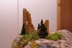 Ruine Oberberg schon ziemlich verwachsen