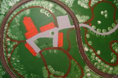 Reitstall und Umgebung in 2D gestaltet