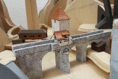 die kleinen Brücken, Steinbogenbrücke und Holzbrücke