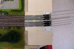 Modul 42, Prototyp, Gleisbau bewegliche Seite
