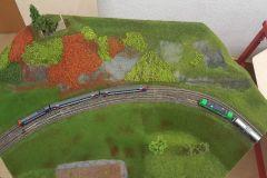 Züge in der neuen Landschaft