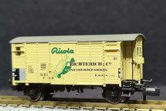 SBB, gedeckter Güterwagen K2, Ricola Richterlich