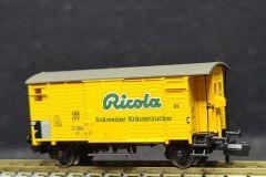 SBB, gedeckter Güterwagen K2, RICOLA