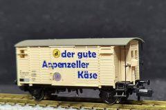SBB, gedeckter Güterwagen K2, Appenzeller Käse