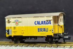 SBB, gedeckter Güterwagen K2, Calanda Bräu