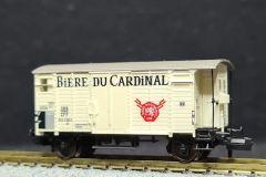 SBB, gedeckter Güterwagen K2, Bière du Cardinal
