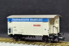 SBB, gedeckter Güterwagen K2, Feldschlösschen Rheinfelden
