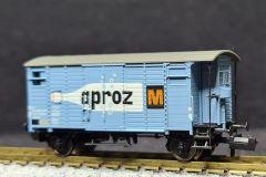 SBB, gedeckter Güterwagen K2, aproz M