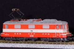 SBB, Re 4/4, grau/beige, SwissExpress SEX